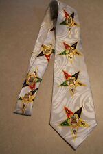 NWT  The Order Of The Eastern Star On Brand New Neck Tie! Free Shipping