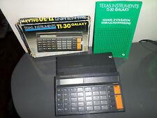 Calculatrice Texas Instruments TI-30 Galaxy en boîte HS