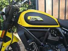 2 Adesivi Resinati Sticker 3D DUCATI SCRAMBLER replica full throat  800 2019 big