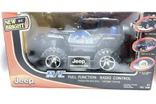 New Bright RC Jeep Wrangler Rubicon Full Function Radio Control # 1580