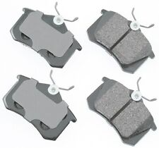 For Audi A3 A4 A6 TT VW Golf Jetta Beetle Passat Rear Disc Brake Pads Akebono