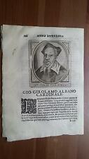 1664 Calvi Scrittori Bergamaschi: Cardinale Giovanni Gerolamo Albani (Bergamo)