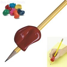 Assorted Colors Pencil Grip 6 Pack Righties Lefties Crossover Training Gripper
