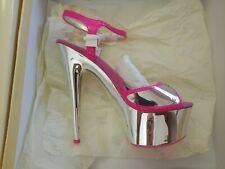 Stripper Pole Dancer Platform High Heel Shoes US Sz 6 Exotic Stiletto