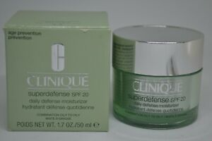 Clinique Superdefense SPF 20 Daily Defense Moisturizer BNIB ~choose your cream~