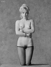 Black & White Fine Art Nude, signed 8.5x11 photo by Morey: Octavia 93693.10