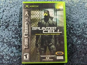 Splinter Cell Stealth Action Redefined XBOX Tested and Working
