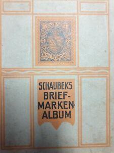 Antik. Sachsen Drei Pfennige. Schaubecks Briefmarken Album, 18tes JH?!