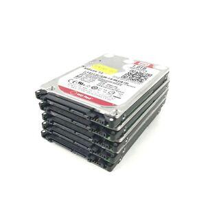 """Job Lot 5 x 1TB WD (WD10JFCX-68N6GN0) 2.5"""" Hard drive"""