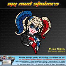 Harley Quinn Vinyl Sticker Decal, 4X4 Ute Car Truck Laptop -  Suicide Squad