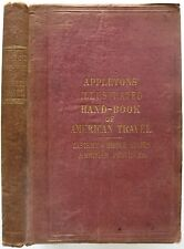 Original 1857 Appleton's HANDBOOK OF AMERICAN TRAVEL Eastern United States Maps