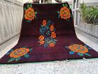 morocan vintage handmade rug beni ouarin berber rug azilal tribal carpet