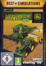 John Deere: LANDMASCHINEN-SIMULATOR 2011 (PC) - NEU & SOFORT