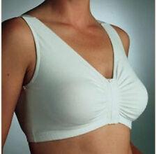 Front Opening Bra Easy Opening / Eezee Bra / Arthritis Bra White 40 NWT