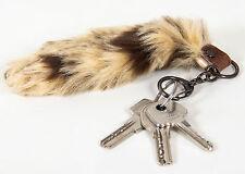 coda di volpe Portachiavi Borse Accessori Ciondolo per chiave