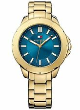 NEW Tommy Hilfiger 1781433 Women's Gold Stainless Steel Quartz Watch