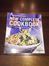 Weight Watchers Program NEW COMPLETE COOKBOOK Points Plus plan food guide recipe