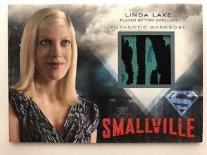 Smallville Seasons 7 10  Tori Spelling Wardrobe Costume Card M26