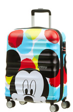 American Tourister Wavebreaker Disney Mickey Mouse Close Up Spinner Cabin Case
