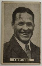 Scarce 1932 Sweetacres Series of Sports Champions Card - Golfer Bobby Jones
