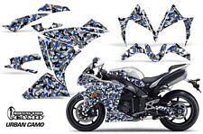 AMR Racing Graphics Decal Wrap Kit Yamaha R1 Street Bike 2010-2012 URBAN CAMO U