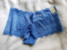 Gilligan o'malley Women's Blue Cheeky Underwear Size M (8-10)