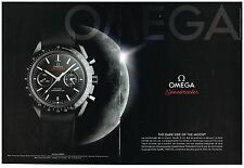 Publicité Advertising 2014 (2 pages) La Montre Omega Speedmaster