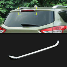 Chrome Rear Window Brake Light Fog Lamp Cover Trim For Ford Escape Kuga 2013-18