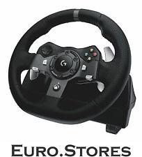 Logitech G920 Motor Racing Wheel Xbox One Pc la retroalimentación de fuerza Genuino Nuevo