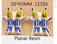 Bananas in Pyjamas Planar Resin flatback 43 x 50mm (pack of 5)