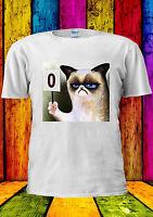 GRUMPY CAT POINT SCORE 0 FUNNY SWAG T-shirt Vest Tank Top Men Women Unisex 1936