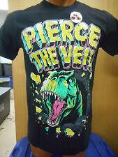 Mens Licensed Pierce The Veil Dinosaur Slim Fit Shirt New XS