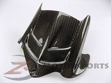 2009-2017 ZX6R ZX-6R Rear Tire Hugger Mud Guard Fairing Cowl 100% Carbon Fiber