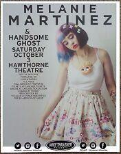 MELANIE MARTINEZ 2015 Gig POSTER Portland Oregon Concert