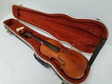 4/4 Ernst Heinrich Roth Bubenreuth Erlangen Violin 1963 w/Hard Case
