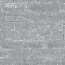 Rasch Carta Da Parati Effetto Mattoni Realistico Muro Di Pietra Finto Effetto