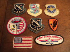Vintage Patch Lot of 8, US Military and other topics