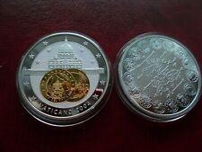 """Erstabschlag  2 Euro Gedenkmünze """"VATIKAN"""" 2004 !"""