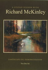 A STUDIO SESSION with Richard McKinley - LANDSCAPE OIL DEMONSTRATION DVD