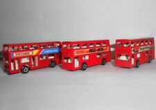 Matchbox London Bus 1972,1981 Lot