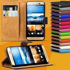 Handy Tasche für HTC Modelle Flip Cover Case Schutz Hülle Etui Schale Wallet