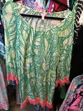 GUC Lilly Pulitzer Getaway Cover-Up Toucan Green Coco Loca Small