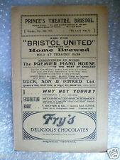 1923 Theatre Programme THE LAST WALTZ-William Spray,T A Shale,N O'malley,M Haine