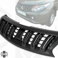 Front Grille in Black for Mitsubishi L200 2016+