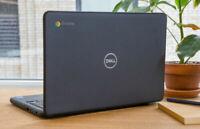 "Dell 11.6"" Chromebook 4GB Intel Dual Core 16GB Webcam Bluetooth HDMI USB WiFi"