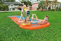 Bestway Outdoor GardenSingle/Double Water Slide for Children Summer Fun