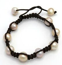 Pearl Freshwater Cultured Pearls Large White Beads Bracelet