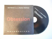 DUB MENTOR feat. STEPHEN MALLINDER : OBSESSION [ CD SINGLE PORT GRATUIT ]