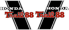 """CT70H Trail CT70HKO 88cc frame decals, graphics, Stickers.    CUSTOM """"TRAIL 88"""""""