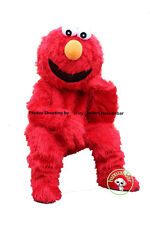 Elmo Red Monster Mascot Costume Plush Cartoon Costume Dress Fast Adult Size 2018